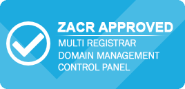 ZACR APPROVED REGISTRAR PANEL
